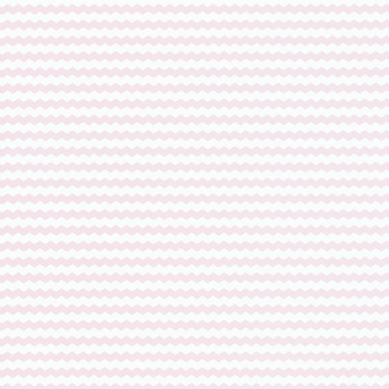 Papier peint chevronné rose - Smile - Caselio