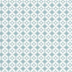 Papier peint Tiens Toi à Carreaux bleu - SMILE - Caselio - SMIL69806202