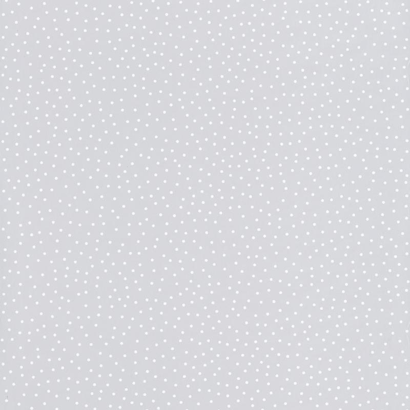 Papier peint les p'tits pois gris - Smile - Caselio