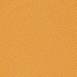 Papier peint les p'tits pois orange- Smile - Caselio