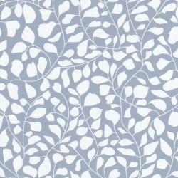 Papier peint Lianes En Folie bleu - SMILE - Caselio - SMIL69812606