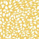 Papier peint lianes en folie, jaune - Smile - Caselio