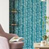 Papier peint seventies bleu - Smile - Caselio