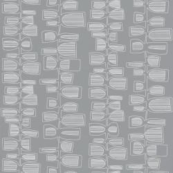 Papier peint Seventies Show gris  - SMILE - Caselio - SMIL69779818