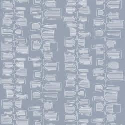 Papier peint Seventies Show bleu - SMILE - Caselio - SMIL69776133