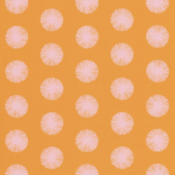 Papier peint Pom Pom Girl orange - SMILE - Caselio - SMIL69732818