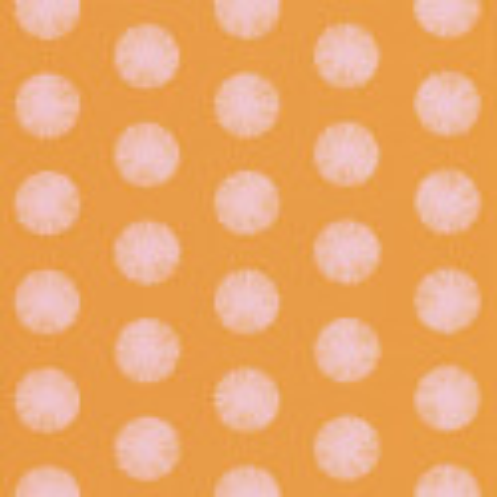 Papier peint pompon orange - Smile - Caselio