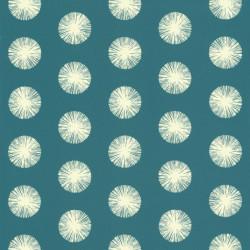 Papier peint Pom Pom Girl vert canard - SMILE - Caselio - SMIL69736629