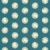Papier peint pompon bleu canard - Smile - Caselio