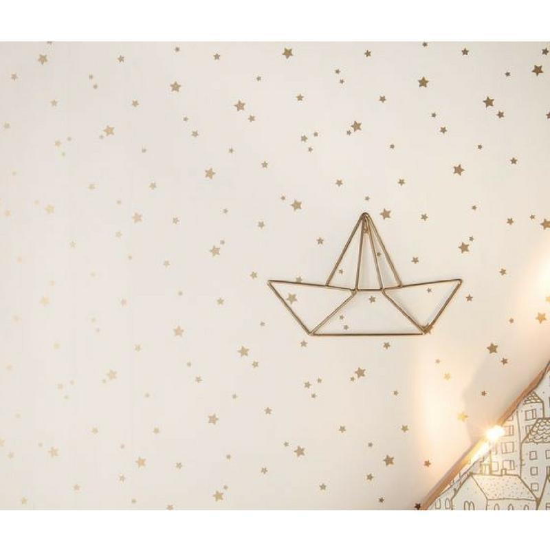 Papier peint Étoile dorée - PRETTY LILI - Caselio - PRLI69232003
