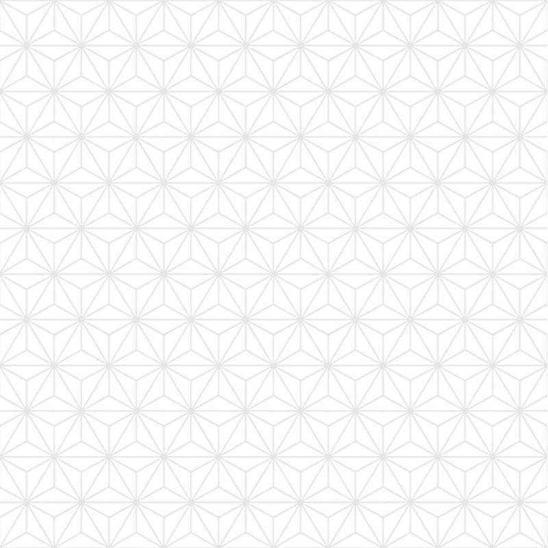Papier peint Origami blanc et gris   GRAPHIQUE Ugepa