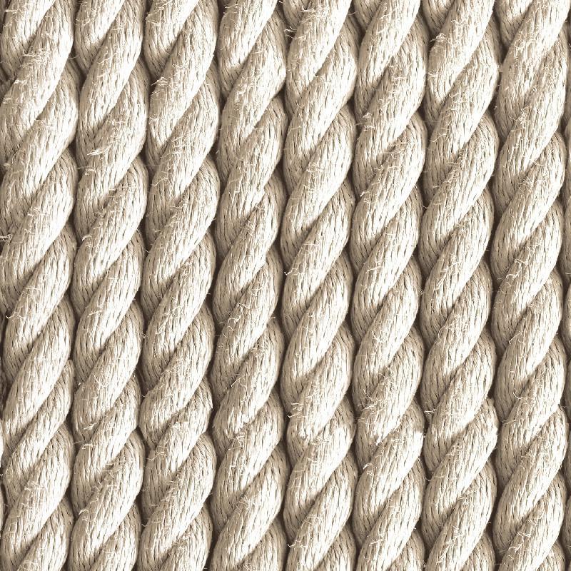 Papier peint trompe l'oeil Cordes naturelles - VOYAGES - UGEPA