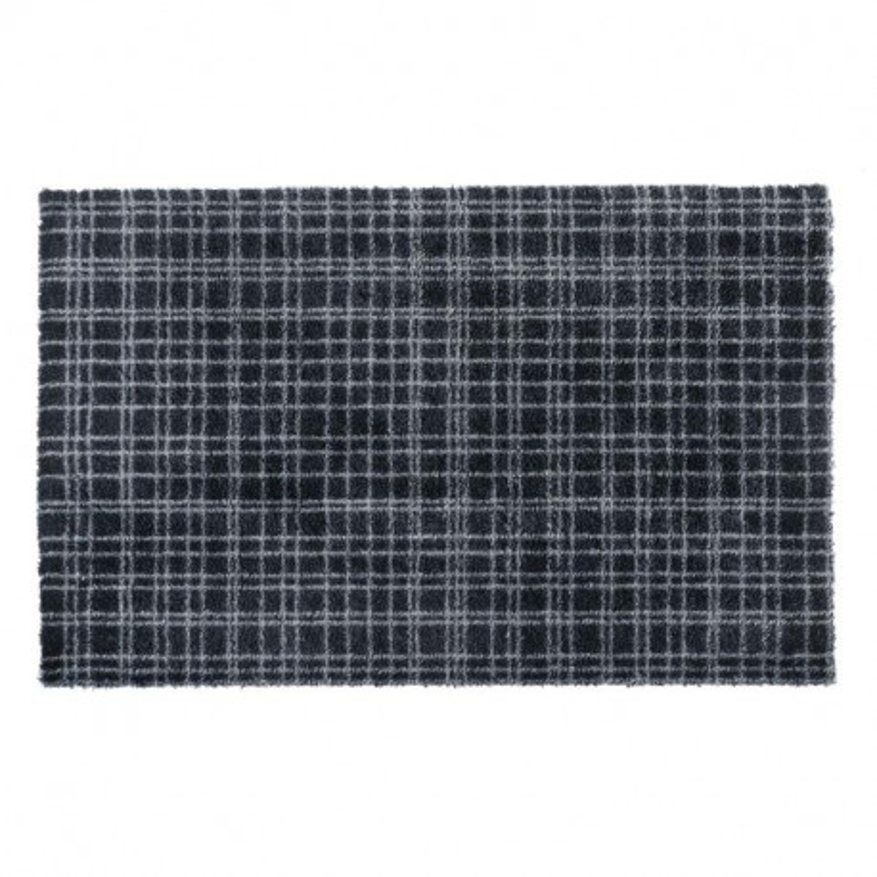 Paillasson / Tapis de propreté à motif FUSION DRY gris anthracite - Hamat