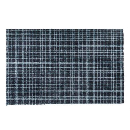 Paillasson / Tapis de propreté à motif FUSION DRY bleu azur - Hamat