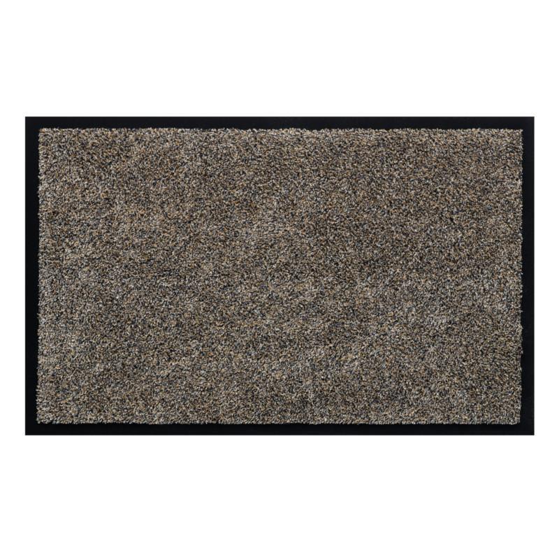 Paillasson / Tapis de propreté uni WATERGATE granite - Hamat