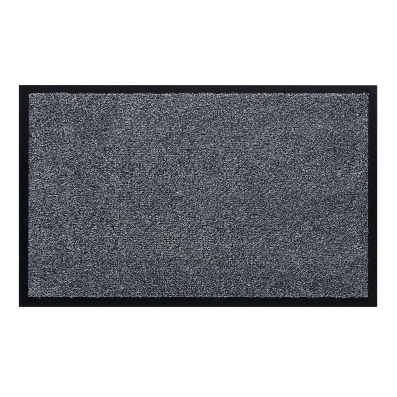 Paillasson / Tapis de propreté uni WATERGATE gris - Hamat