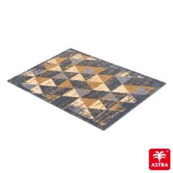 Tapis de propreté - paillasson triangles vintage marron MIABELLA - Astra Schöner Wohnen