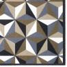 Paillasson / Tapis de propreté FASHION illusion beige - 50x120cm Hamat