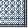 Paillasson / Tapis de propreté FASHION Carreaux espagnols bleu - 50x120cm Hamat