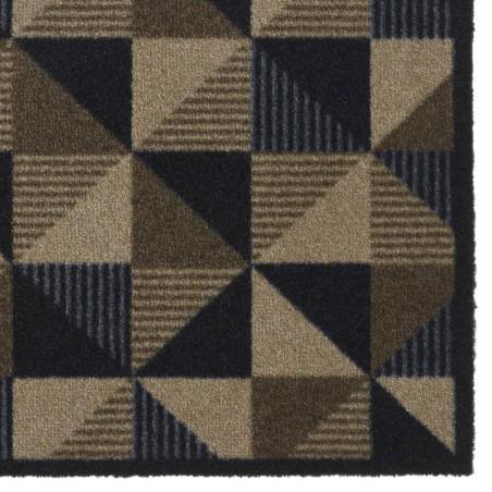 Paillasson / Tapis de propreté PRESTIGE geometric noir Hamat