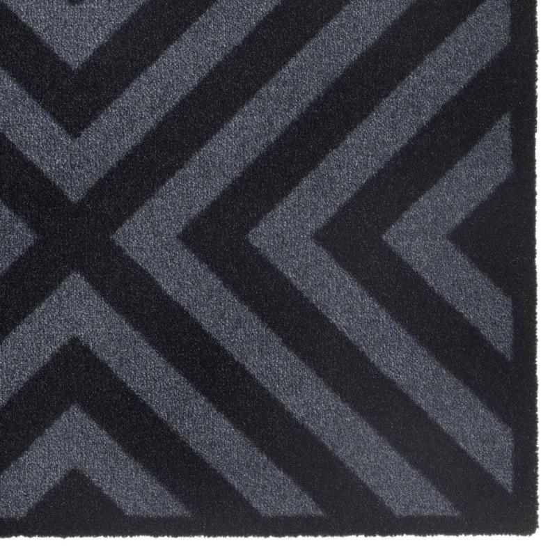 Paillasson / Tapis de propreté PRESTIGE cross noir Hamat