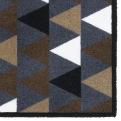 Paillasson / Tapis de propreté PRESTIGE triangles graphic gris Hamat
