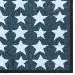 Paillasson / Tapis de propreté PRESTIGE étoiles stars bleues Hamat