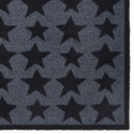 Paillasson / Tapis de propreté PRESTIGE étoiles stars gris Hamat