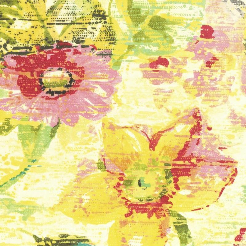 Papier Peint Intisse Fleur Vintage De La Collection Lucy In The Sky