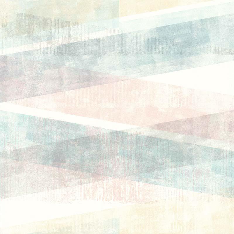 Papier peint Géométrique pastel - RETRO VINTAGE - Lutèce - 51174703