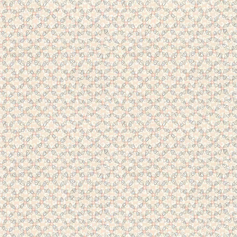 Papier peint Allover Vintage orange - RETRO VINTAGE - Lutèce - 51175103