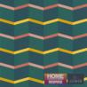 Papier peint Graphique Escalier vert - Bensimon - Lutèce
