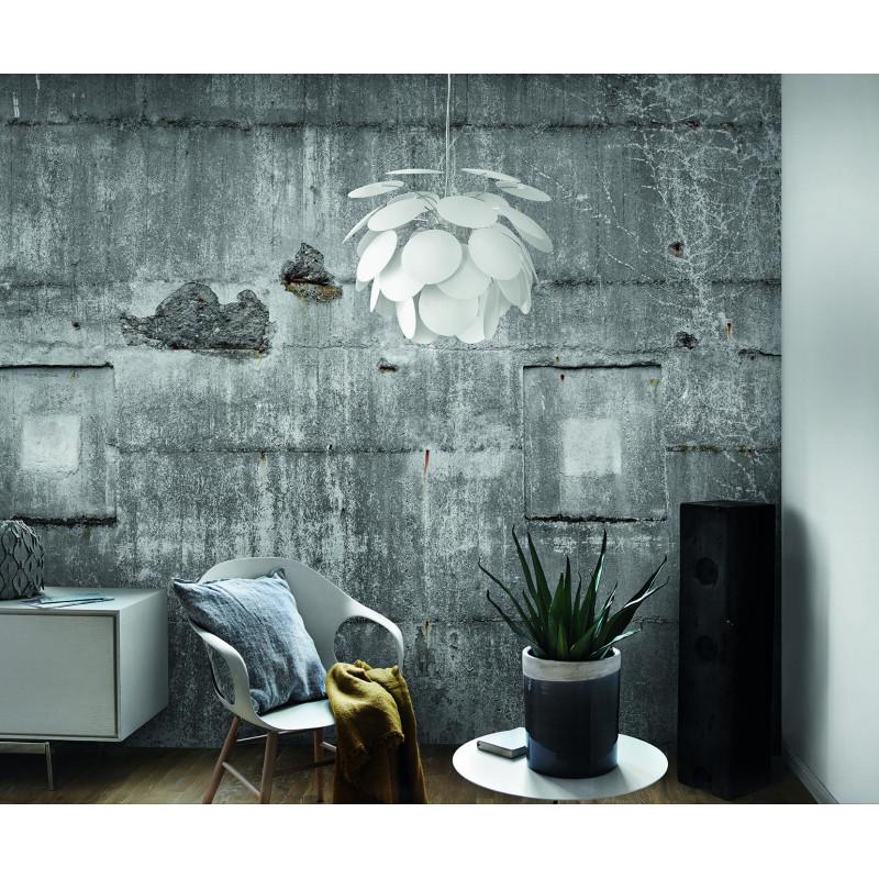 Panoramique Mur Béton Industriel XXL gris bleuté - FACTORY III - Rasch - 445503