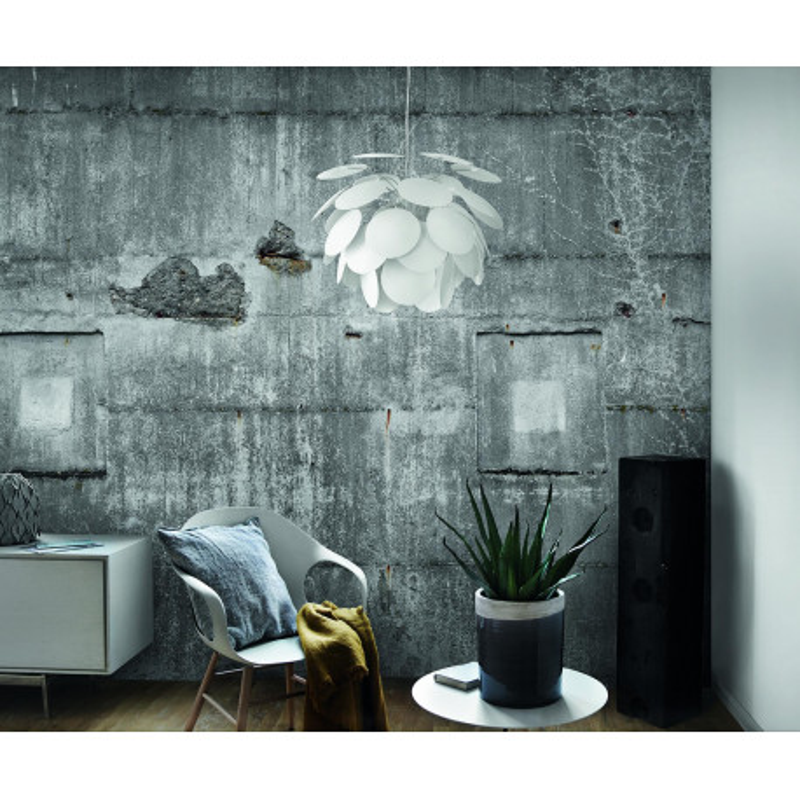 Panoramique Mur Béton Industriel gris bleuté  - FACTORY III - Rasch - 445510