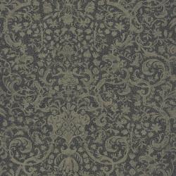 Papier peint ORSAY gris foncé - Signature - Casadeco