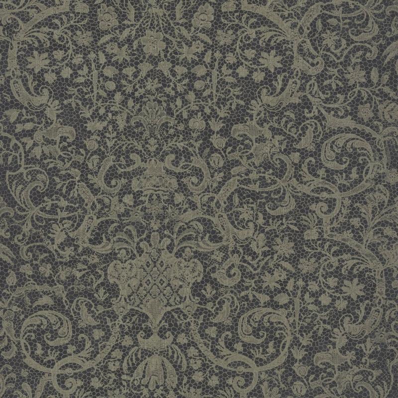Papier peint Orsay gris foncé  - SIGNATURE - Casadeco - SIGN81979501