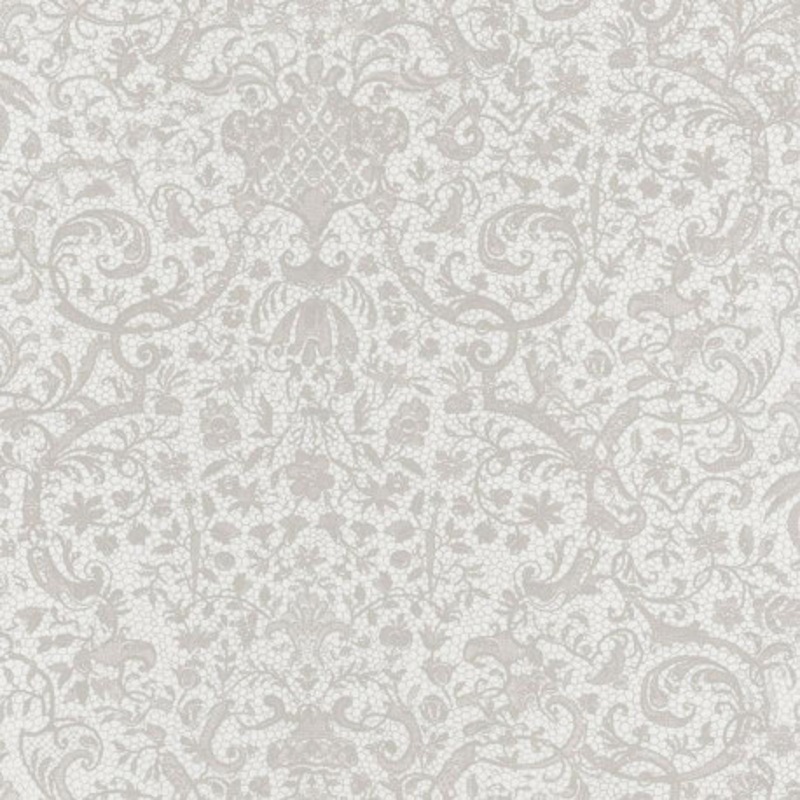Papier peint Orsay blanc - SIGNATURE - Casadeco - SIGN81971106