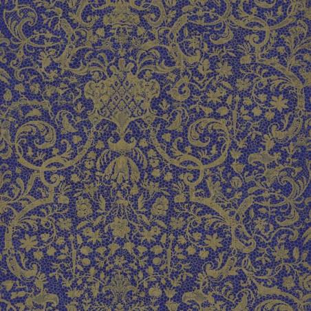 Papier peint ORSAY bleu - Signature - Casadeco