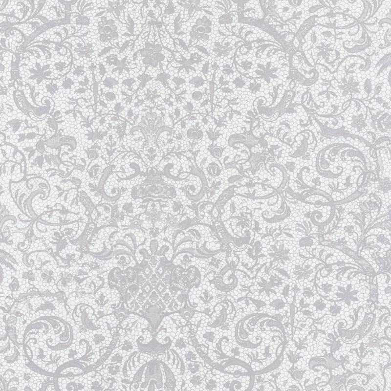 Papier peint Orsay gris clair - SIGNATURE - Casadeco - SIGN81979114