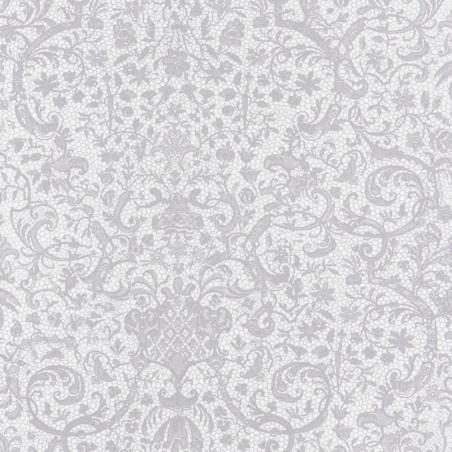 Papier peint ORSAY gris clair - Signature - Casadeco