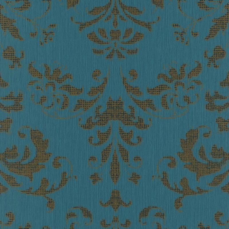 Papier peint Palace vert - SIGNATURE - Casadeco - SIGN81996156