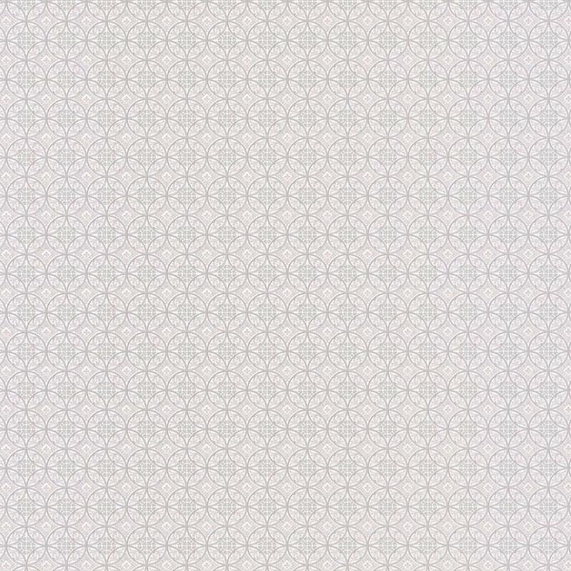 Papier peint Oscar gris - CHELSEA - Casadeco - CHEL81949106