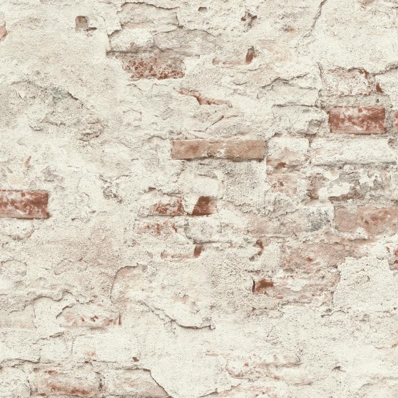 Papier peint Mur de briques - FACTORY III - Rasch - 939309