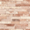 Papier peint brique marron - Factory III - Rasch