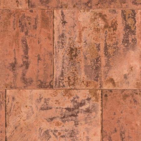 Papier peint métal rouillé - Factory III - Rasch
