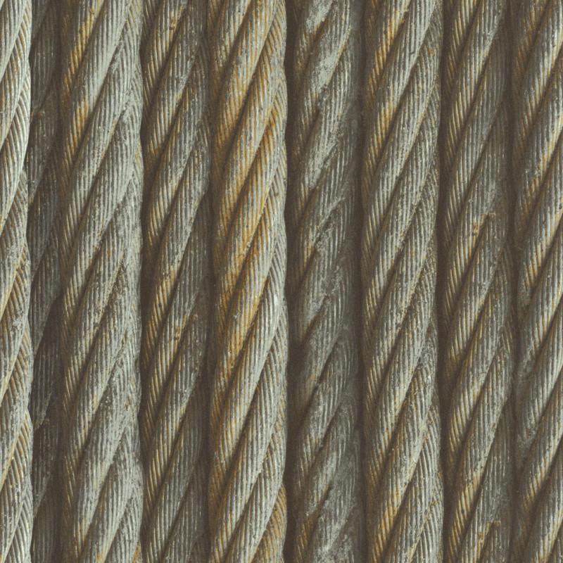 Papier peint Corde FACTORY III - Rasch - 939903