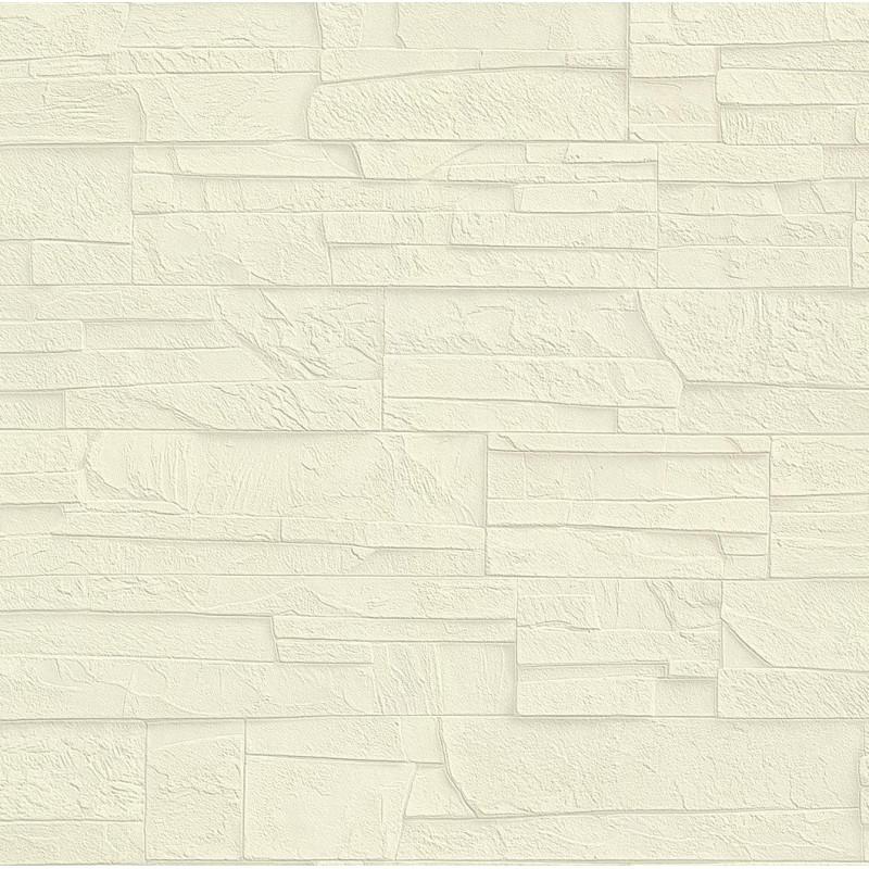 Papier peint Mur de pierre beige - FACTORY III - Rasch - 475005