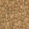 Papier peint lettre métallique gold - Factory III - Rasch