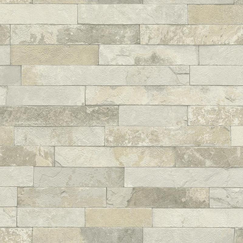 Papier peint Briques naturel - FACTORY III - Rasch - 475111