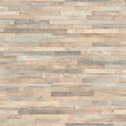Papier peint patchwork de bois - Factory III - Rasch